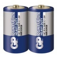 Батарейки GP 14С Power Plus C (R14)