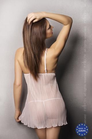 Нежная розовая сорочка и трусики ROMANCE L/XL 20762PAS
