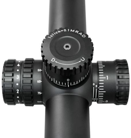 Nikon BLACK X1000 4-16x50SF Matte Illuminated X-MOA
