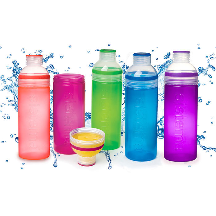 "Бутылка для воды Sistema ""Hydrate"" 700 мл, цвет Синий"