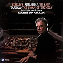 HERBERT VON KARAJAN: Sibelius: Finlandia. Karelia. En Saga. Valse Triste