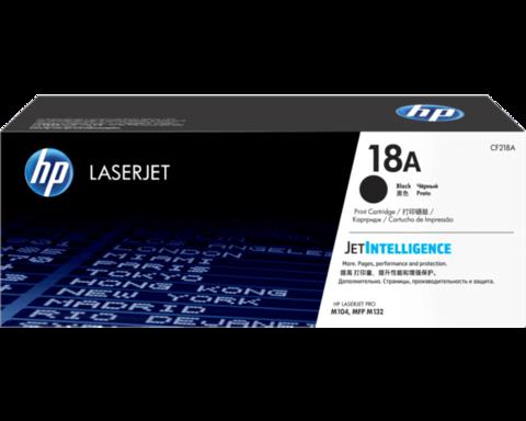 Оригинальный картридж HP CF218A (№18A), чёрный
