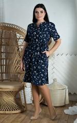 Альбіна. Літня гарна сукня великих розмірів
