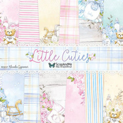 Набор бумаги «Little Cuties », 30,5 х 30,5 см, 250 г/м²