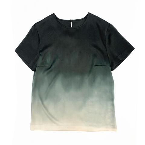 Шелковая блузка батик Айвори