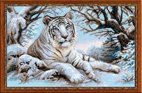 Набор для вышивания крестом «Бенгальский тигр» (1184)