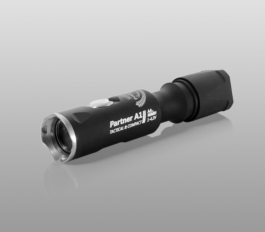 Тактический фонарь Armytek Partner A1 Pro (тёплый свет) - фото 1