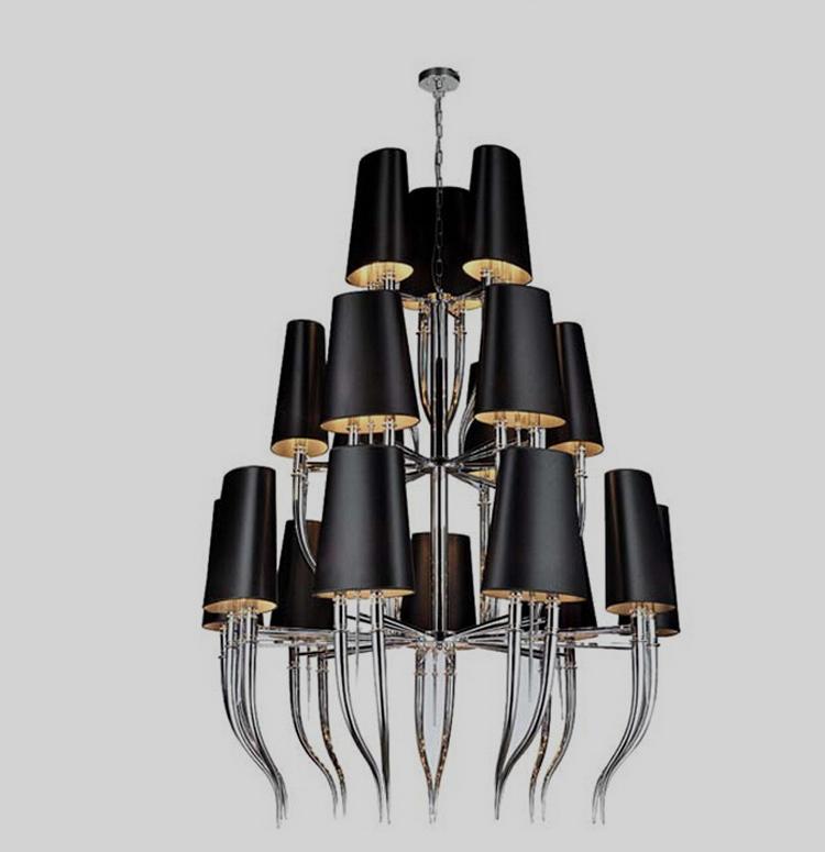 Подвесной светильник копия Brunilde С369 by Ipe Cavalli (черный)