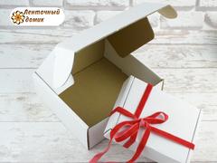 Коробка упаковочная белая № 3 (150*150*55 мм)