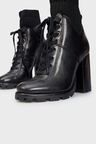 Женские черные ботильоны Schutz