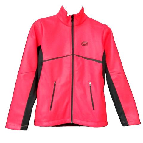Детская лыжная разминочная куртка ARSWEAR Softshell Active Lite Collection красная
