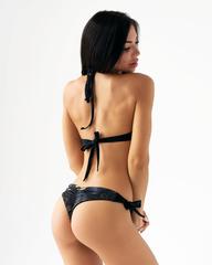 Спортивный топ Nebbia Earth Powered bikini - top 556 Black