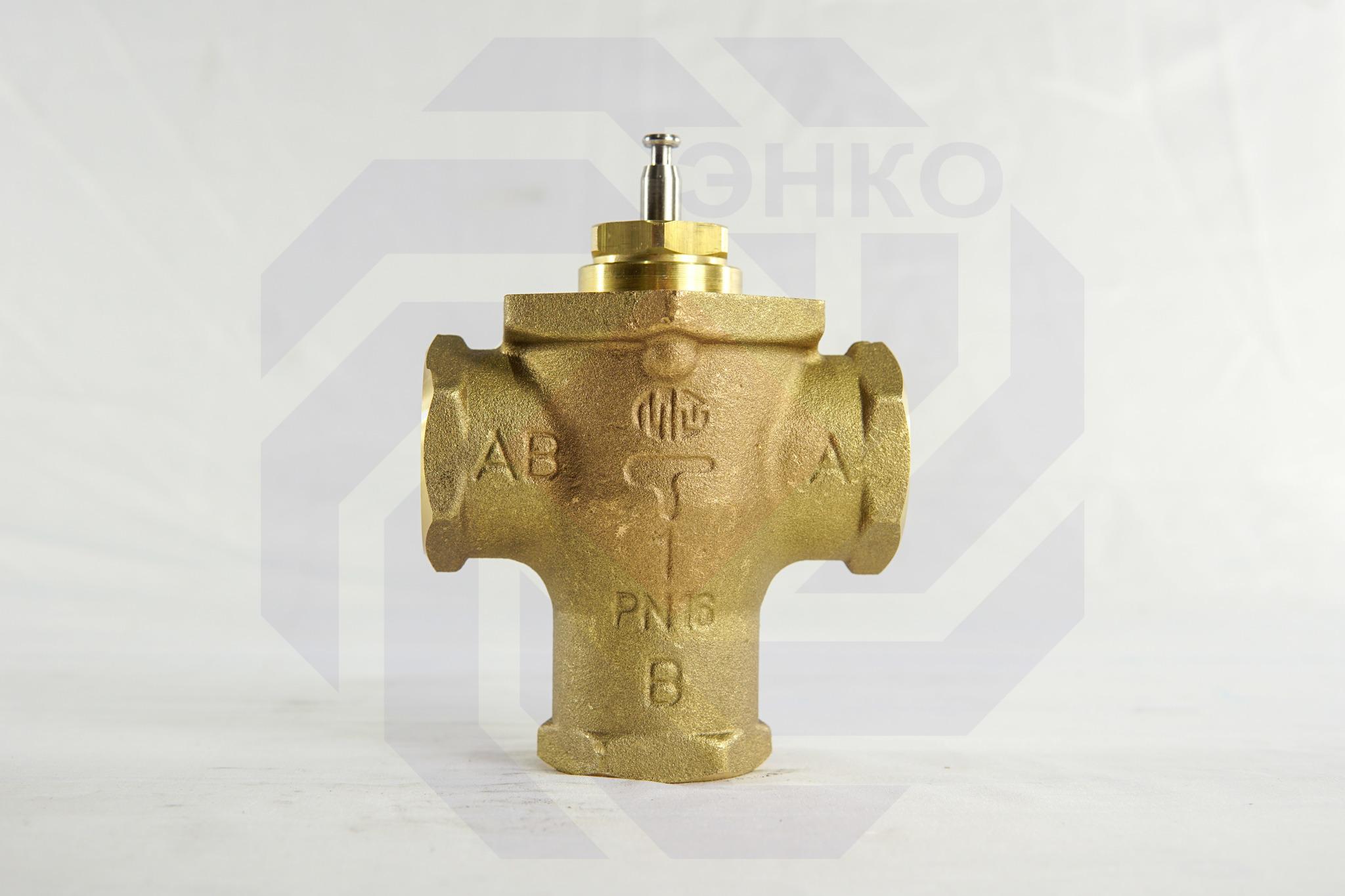 Клапан регулирующий трехходовой MUT MK DN 25