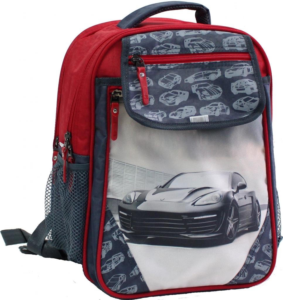 Рюкзак школьный Bagland Отличник 20 л. 321 сірий 43 м (0058070)