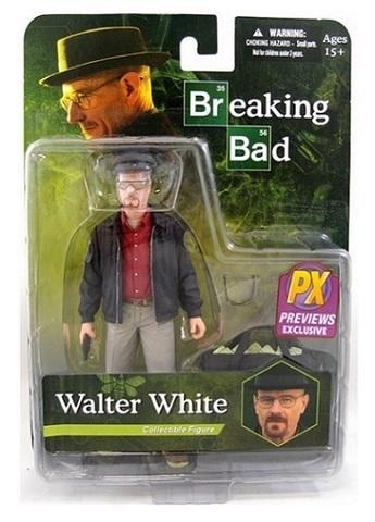 Во все тяжкие фигурка Уолтер Уайт Exclusive