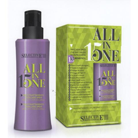 Маска-спрей для всех типов волос,Selective,150 мл.