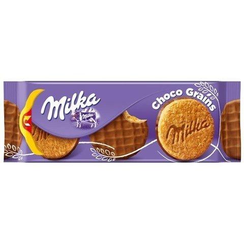 Печенье Milka Choco Grains со злаками 126 гр