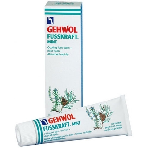 Мятный охлаждающий бальзам GEHWOL Fusskraft Mint 75 мл
