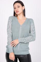 <p><span>Пуловер с люрексом- актуальная модель на сезон осень-зима 2021. Идеальный женственный вариант на каждый день!&nbsp;</span></p>