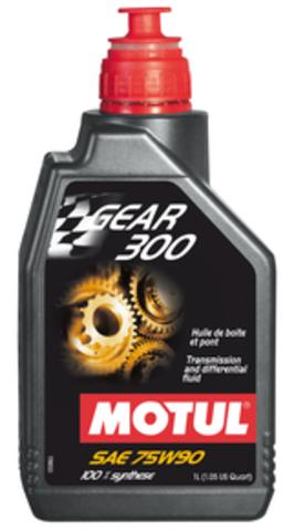 MOTUL Gear 300 75W90  Масло трансмиссионное