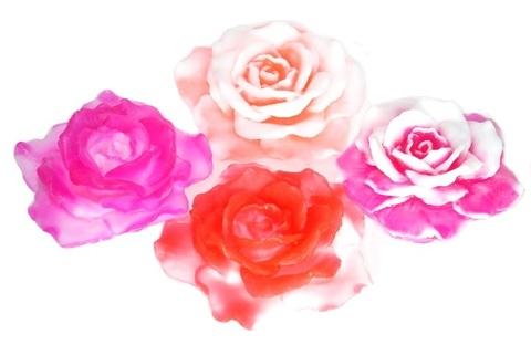 Мыльное ассорти/цветок 3D РОЗОЧКА, 50g TM ChocoLatte