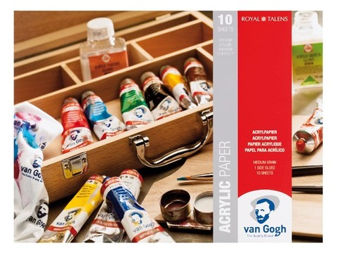 Альбом для акрила VAN GOGH 370г/кв.м 240х320мм 10л