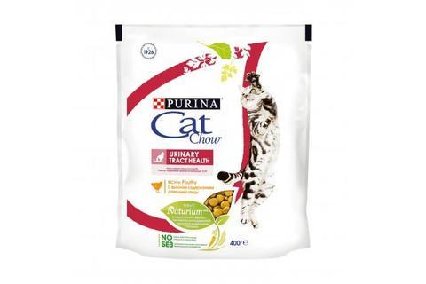 Сухой корм для кошек Purina Cat Chow для поддержания здоровья мочевыводящих путей, домашняя птица