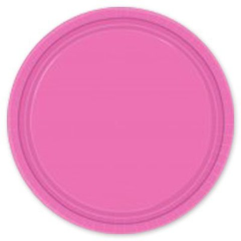 Тарелка Bright Pink 17см 8шт/A