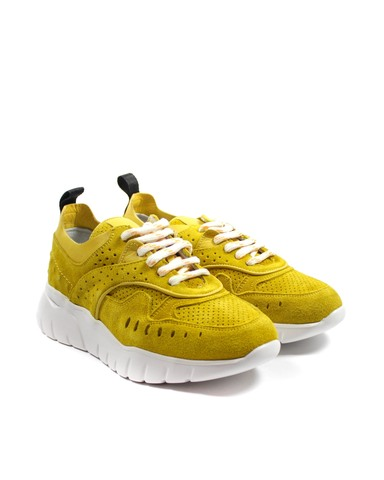 желтые кроссовки SM