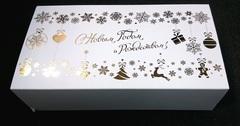 Коробка новогодняя (185х110х55 мм)