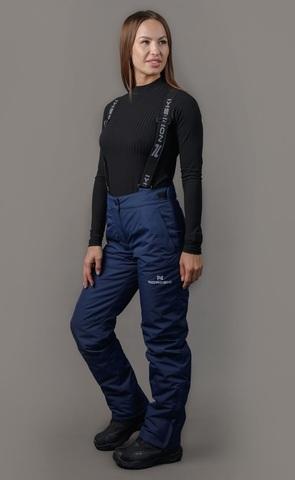 Утепленные брюки Nordski Mount dark blue W женские