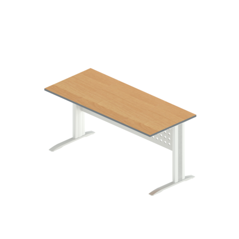 АМК-2 + ОА-01/1600 Стол прямой на металлокаркасе (160x70x75  )