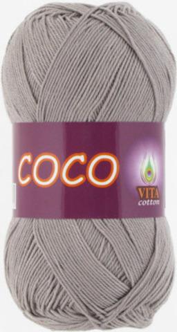 Пряжа Coco Vita cotton 4333 Серый, фото