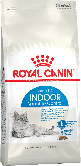 Сухой корм Корм для кошек, Royal Canin Indoor Appetite Control,  склонных к перееданию, живущих в помещении, в возрасте от 1 года до 7 лет 16_indoor_appetite_control_b1_in_packaging_packshots_000006_2.png