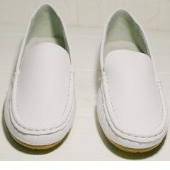 Классические мокасины женские AESD 902 White