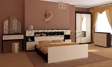 Спальня Бася с прикроватным блоком ЛДСП