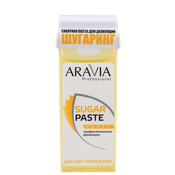 Сахарная паста Aravia ARAVIA Professional, Сахарная паста в картридже «Медовая», 150 г Паста_для_шугаринга_в_картридже_Медовая_150_г__ARAVIA_Professional.jpeg