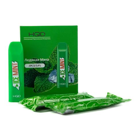 Одноразовая электронная сигарета HQD V2 Mint (Мята)
