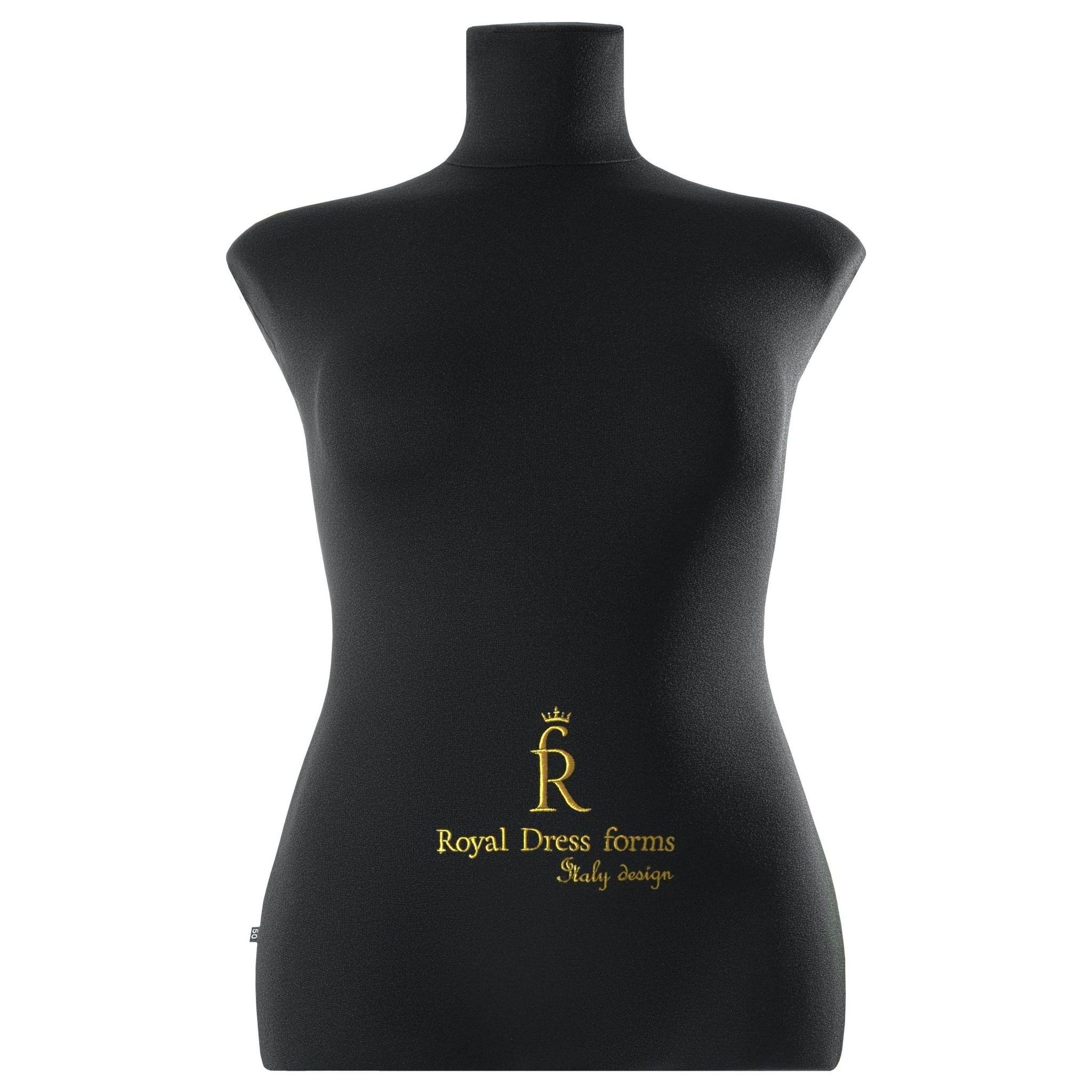 Манекен портновский Кристина, комплект Стандарт, размер 50, цвет чёрный, в комплекте магнит-трафарет