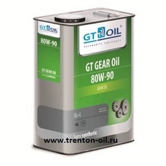 GT Oil GEAR OIL 80W-90  GL-4