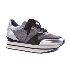 Комбинированные кроссовки Pertini 14148 на шнуровке