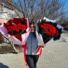 Букет Гигант из 25 роз