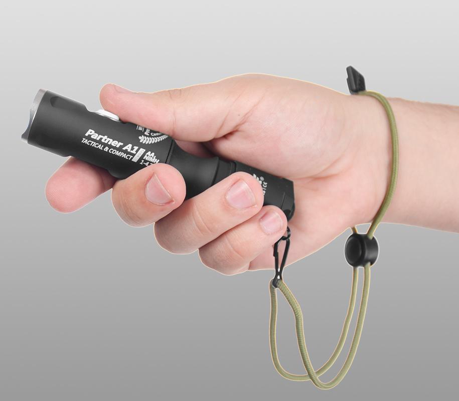 Тактический фонарь Armytek Partner A1 Pro (тёплый свет) - фото 2
