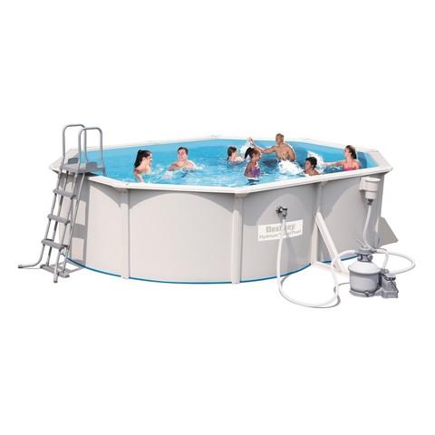 Сборный бассейн Bestway Hydrium 56586 (500x360x120) с песочным фильтром / 16469