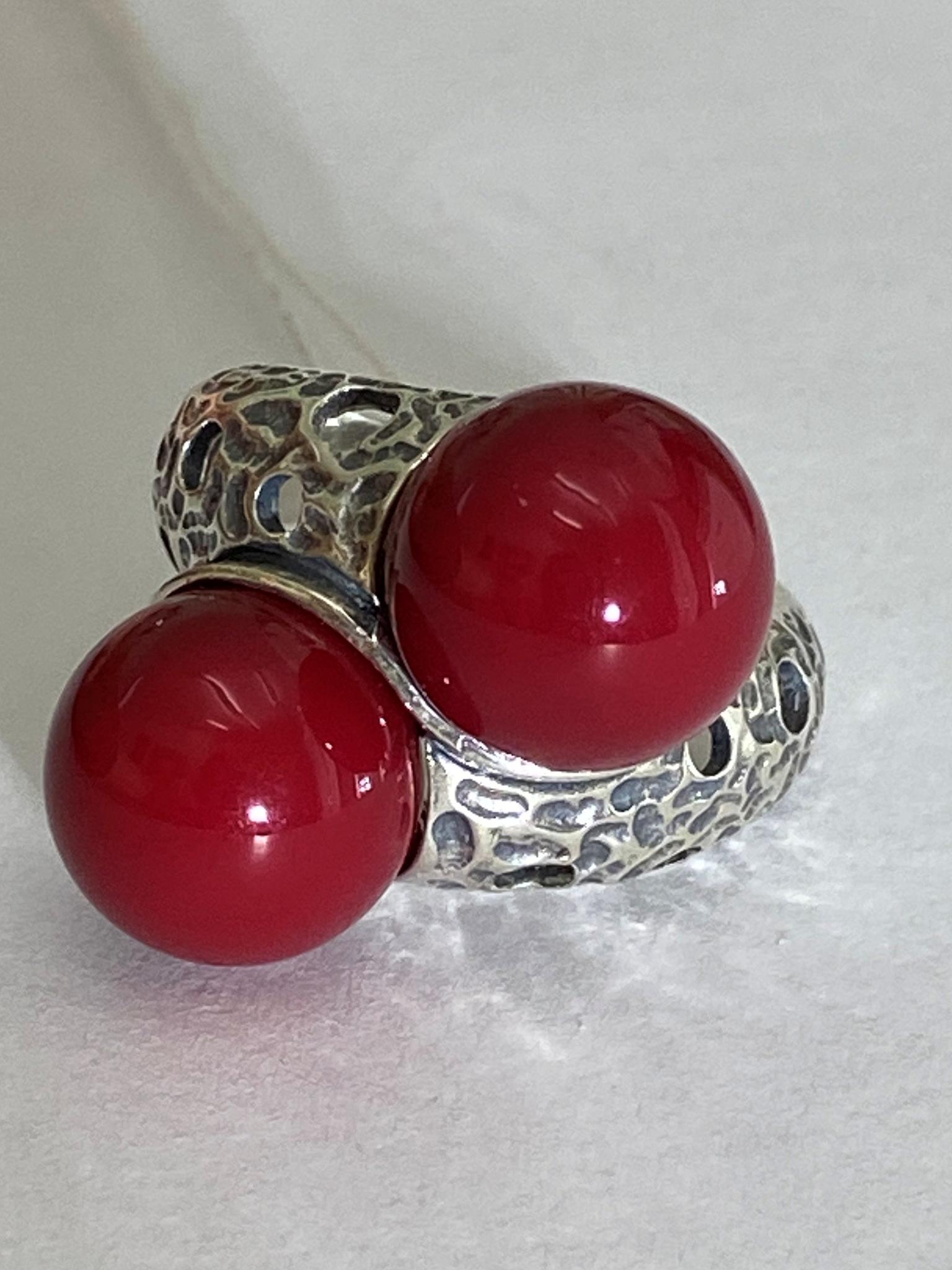 Орбита (кольцо из серебра)