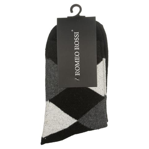 Мужские носки черные ROMEO ROSSI с шерстью 8038-2