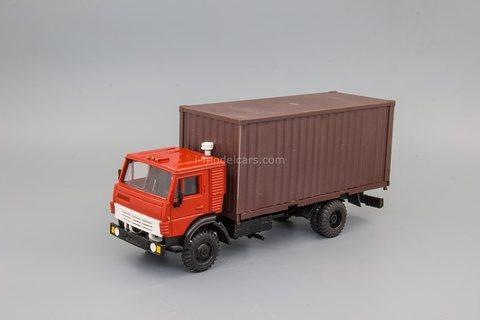 KAMAZ-5325 container truck Elecon 1:43