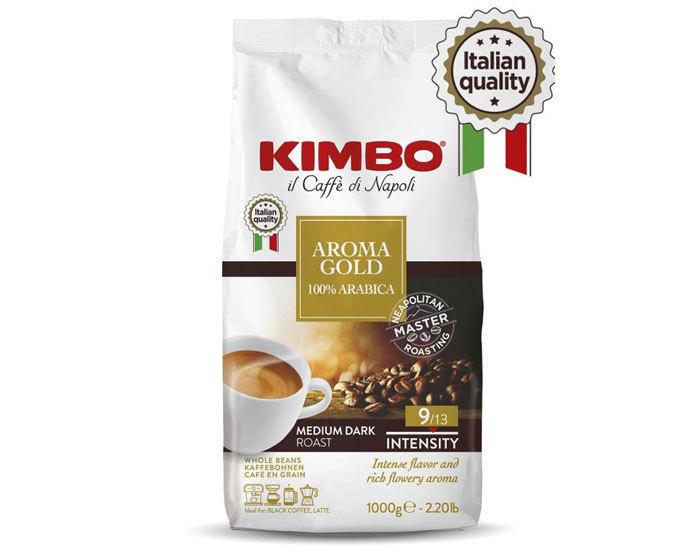 купить Кофе в зернах Kimbo Aroma Gold 100% Arabica