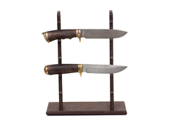 Стойка из венге для 5 ножей высокая