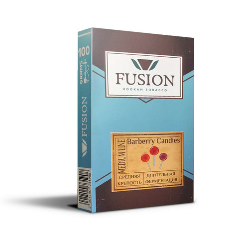 Табак Fusion Medium Barberry Candies 100 г